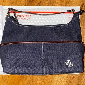 Polo Ralph Lauren Purse Shoulder Small Bag 11x7 D